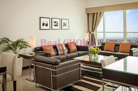 Fully Furnished 1BR Hotel Apartment|Amazing Views