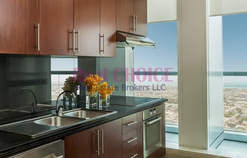 2 Fully Furnished 1BR Hotel Apartment|Amazing Views