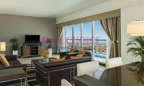 3 Bedroom Hotel Apartment for Rent in Sheikh Zayed Road, Dubai - Cozy 3BR Hotel Apartment|On High Floor|Vacant Now