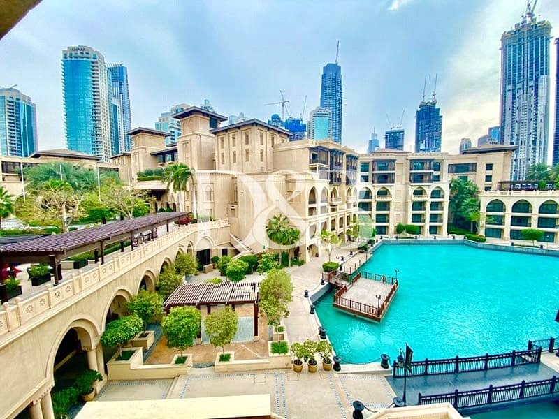 2 Spacaious | Maids Room | Burj And Fountain View