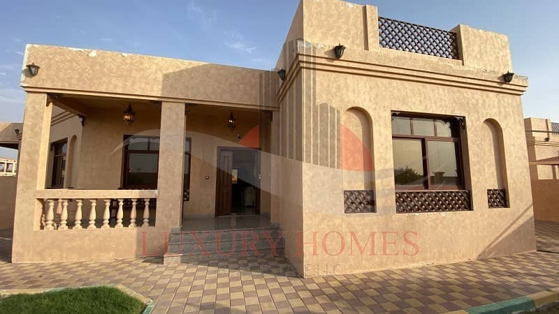 Fully furnished ground floor villa with utilities