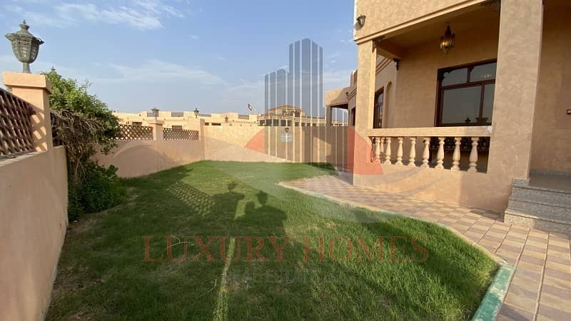 32 Fully furnished ground floor villa with utilities