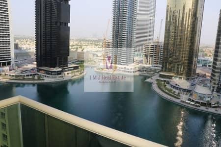 فلیٹ 1 غرفة نوم للايجار في أبراج بحيرات الجميرا، دبي - Furnished 1 Bedroom with Marina View