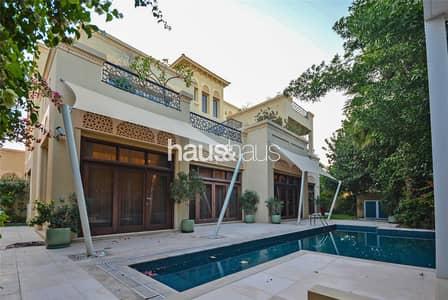فیلا 6 غرف نوم للايجار في البراري، دبي - Furnished | Landscaped | Type B | Cinema