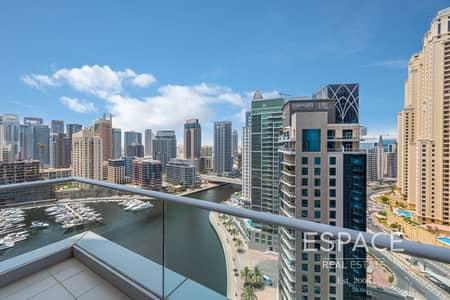شقة 2 غرفة نوم للبيع في دبي مارينا، دبي - 2 Bedrooms   3 Bathrooms   Marina View