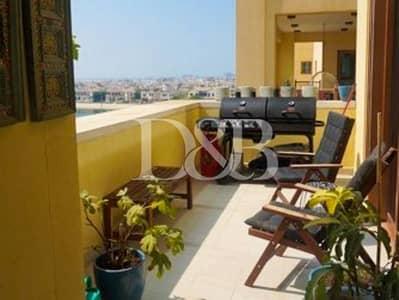 شقة 2 غرفة نوم للايجار في نخلة جميرا، دبي - Vacant In Aug | Sea View | Garden and Pool