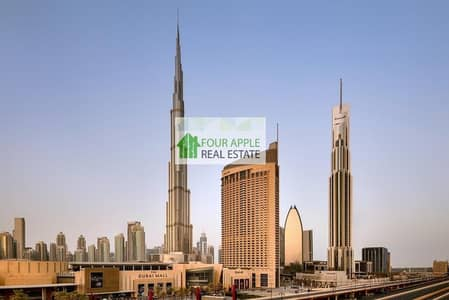 Studio for Rent in Downtown Dubai, Dubai - Fully Furnished Studio With Balcony Downtown View