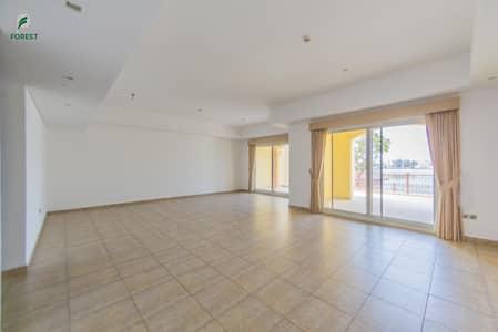 فلیٹ 2 غرفة نوم للبيع في نخلة جميرا، دبي - Full Sea View | 2 BR with Maids and Study Room