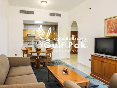 شقة فندقية 1 غرفة نوم للايجار في شارع حمدان، أبوظبي - شقة فندقية في شارع حمدان 1 غرف 75000 درهم - 4675689