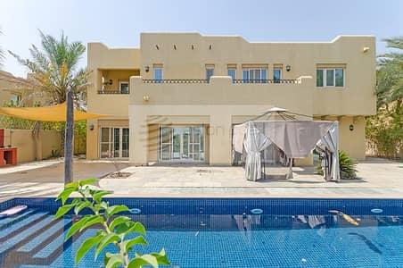 فیلا 6 غرف نوم للبيع في المرابع العربية، دبي - Full Golf Course View| Large Private Pool | Vacant