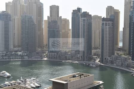 فلیٹ 3 غرف نوم للبيع في دبي مارينا، دبي - Fully Furnished 3BR+M Full Marina View