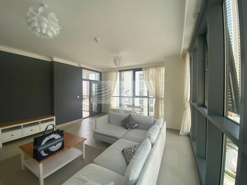 Creek & BLVD View | 1 BR Furnished | South Tower 1