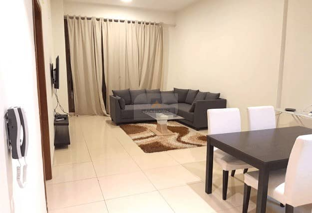 FULLY FURNISHED | 1BR + MAID'S