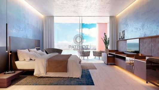 1 Bedroom Hotel Apartment for Sale in The World Islands, Dubai - Mediterranean Style | 5 Star Hotel Beachfront Unit