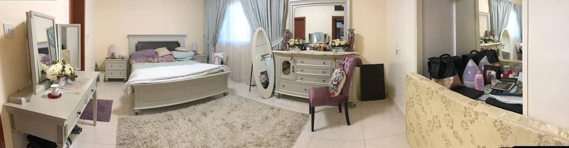 4 Bedroom Villa for Rent in Al Ramla, Sharjah - HUGE LUXURY 4BHK MASTER BEDROOMS, MAJLIS , MAID ROOM  WITH  CAR PARKING & GARDEN IN 75K IN 4 PAYMENS RAMLA  SHARJAH