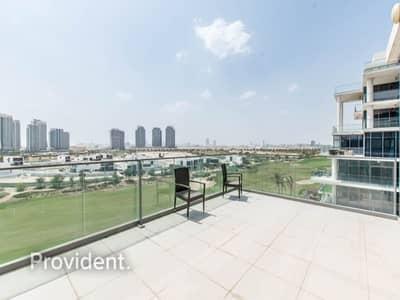 فلیٹ 3 غرف نوم للايجار في داماك هيلز (أكويا من داماك)، دبي - Elegantly furnished|Lovely Golf View|Huge Terrace