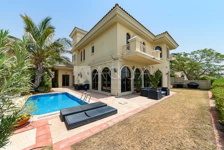 4 Bedroom Villa for Sale in Palm Jumeirah, Dubai - Vacant High Number Atrium Entry Immaculate