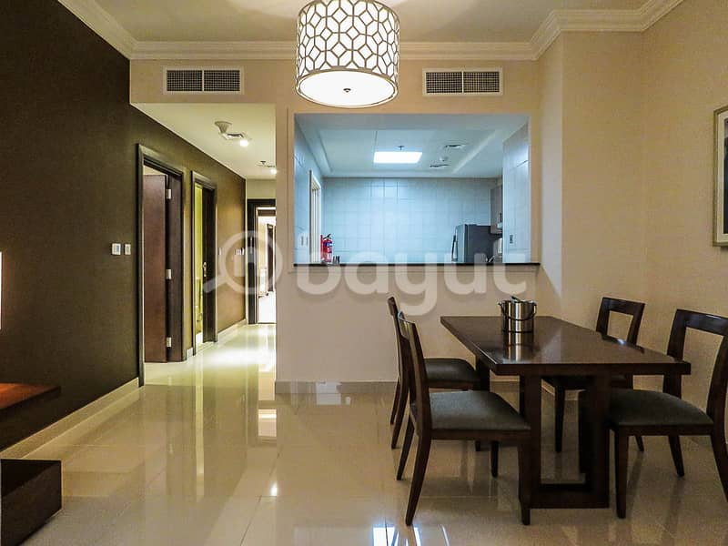 ALL INCLUDED -DEWA , WIFI , CAR PARK , HOUSE KEEPING ,FURNISHED APARTMENTS