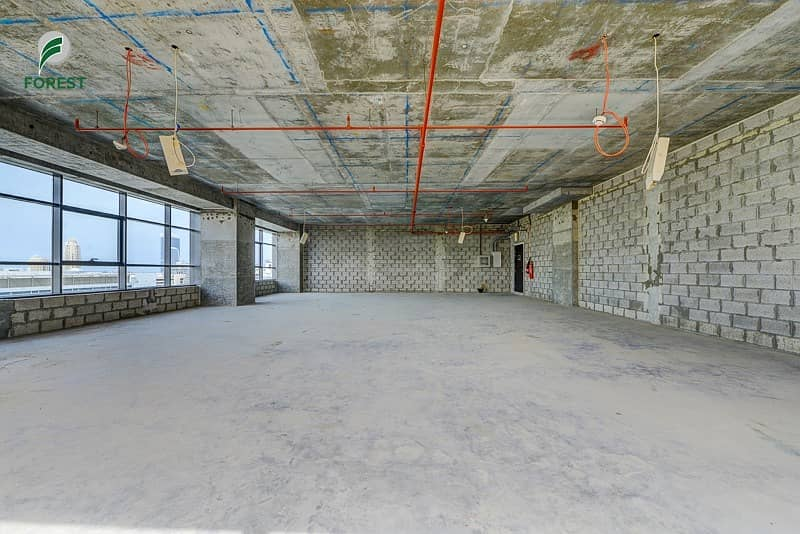 Spacious  Office | Shell & Core | Unfurnished