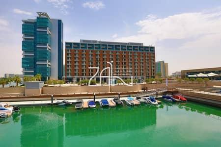 فلیٹ 2 غرفة نوم للبيع في شاطئ الراحة، أبوظبي - Hot Deal! Full Sea View 2 BR Apt with Balcony
