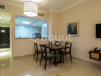 1 Bedroom Hotel Apartment for Rent in Al Nahda, Dubai - ALL INCLUSIVE -LUXURIOUS+SPECIAL OFFER +NO COMMISSION + ALL INCLUSIVE