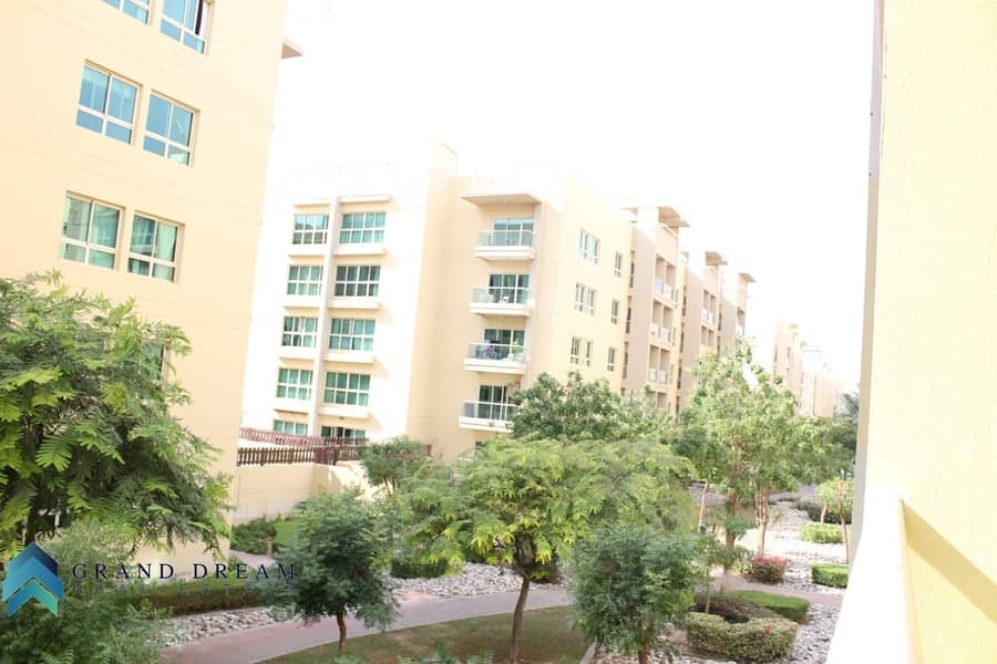 10 Garden View | Well Maintained 1BHK | Rented