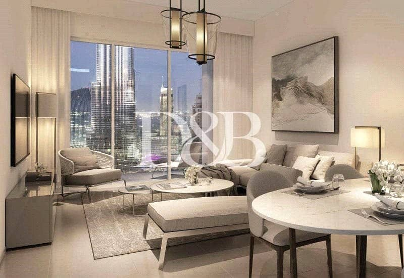 1 A Perfect Location | Full Fountain And Burj View