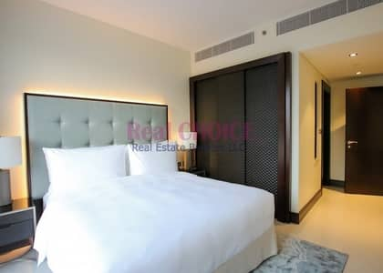 1 Bedroom Hotel Apartment for Rent in Downtown Dubai, Dubai - Bright and Highest Floor|Business Bay Canal View