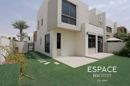 4 Bedroom Villa for Rent in Town Square, Dubai - 4 Bedrooms - Landscaped Garden - Corner Unit