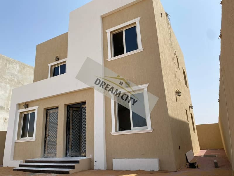 Villa in the best areas of Ajman owns a new villa, the first inhabitant of Al Helio, and it has freehold all nationalities