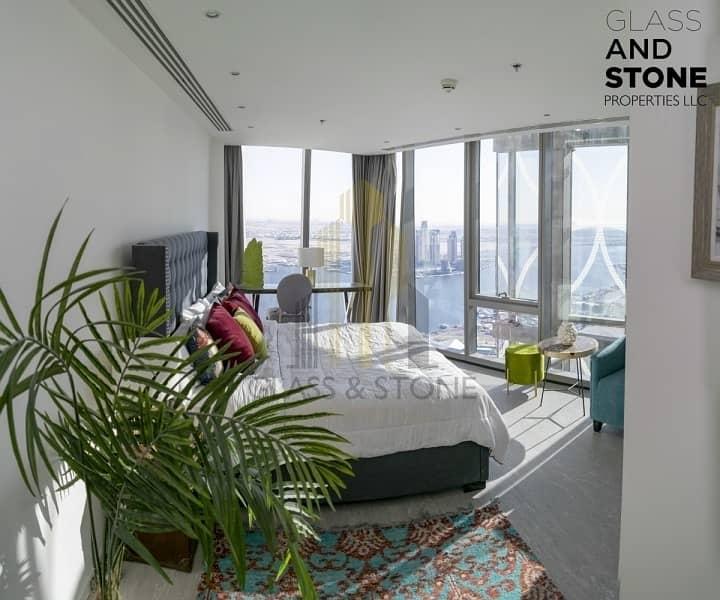 2 7 Beds|luxurous|Skyline View|Designr Furnitre+Maid