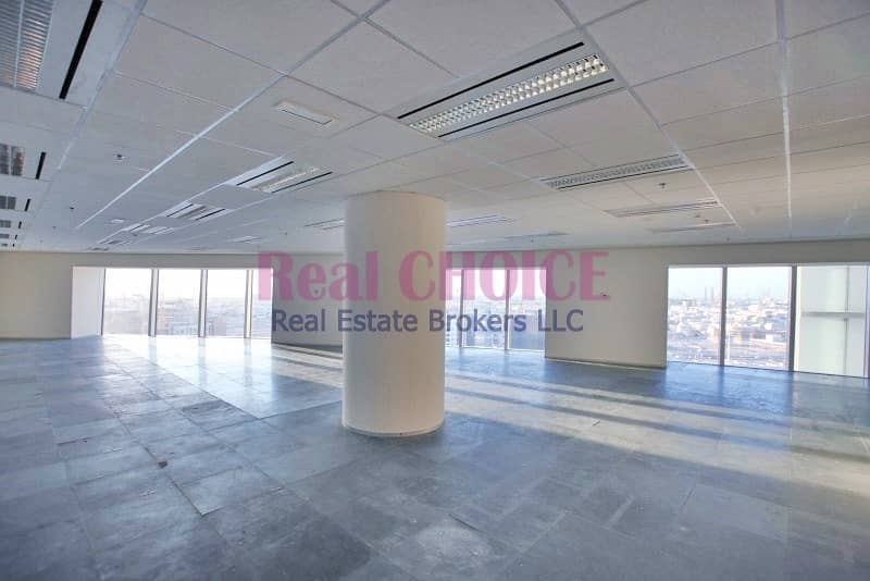Fully Fitted Office|Low  floor|Sheikh Zayed Road