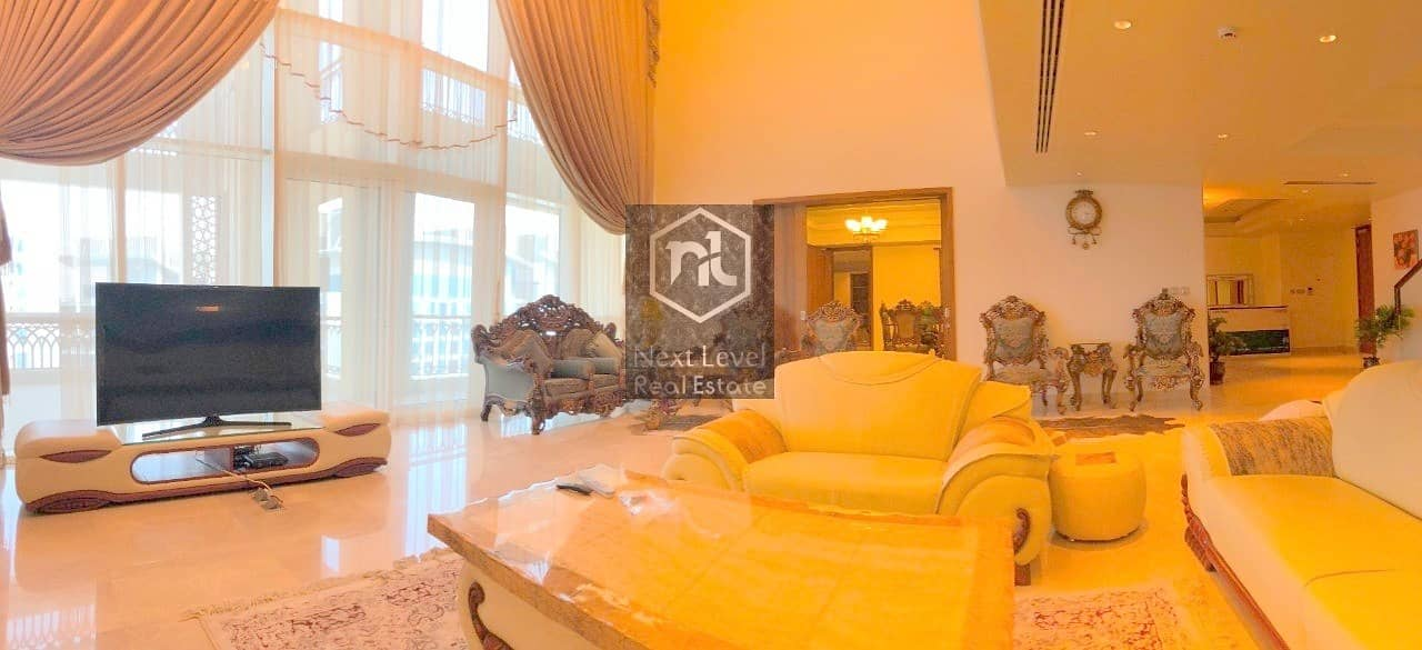 Luxury Penthouse | Elegantly Furnished | Massive 4 Bedroom+Maid | Panoramic View | Palm Jumeirah