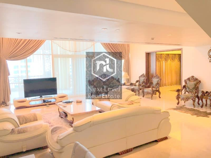 2 Luxury Penthouse | Elegantly Furnished | Massive 4 Bedroom+Maid | Panoramic View | Palm Jumeirah