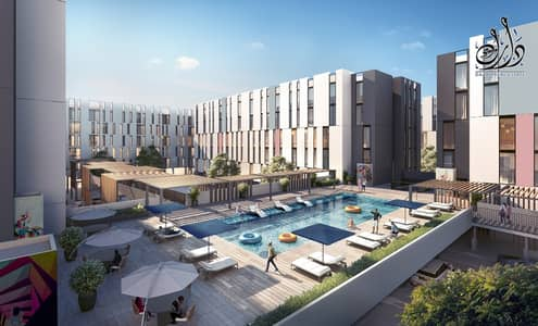 1 Bedroom Apartment for Sale in Aljada, Sharjah - pay 29k down payment - 1500 monthly - 1st smart home in sharjah