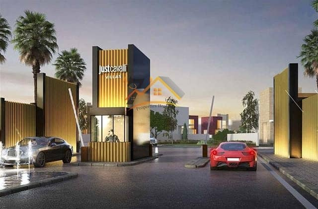 Just Cavalli at AED 1.3m payable over 3 years with 4% DLD fee waier