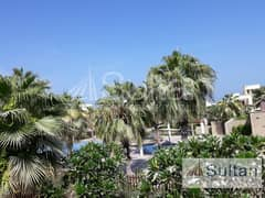Fabulous 4BR in Mina Al Arab, Pool View