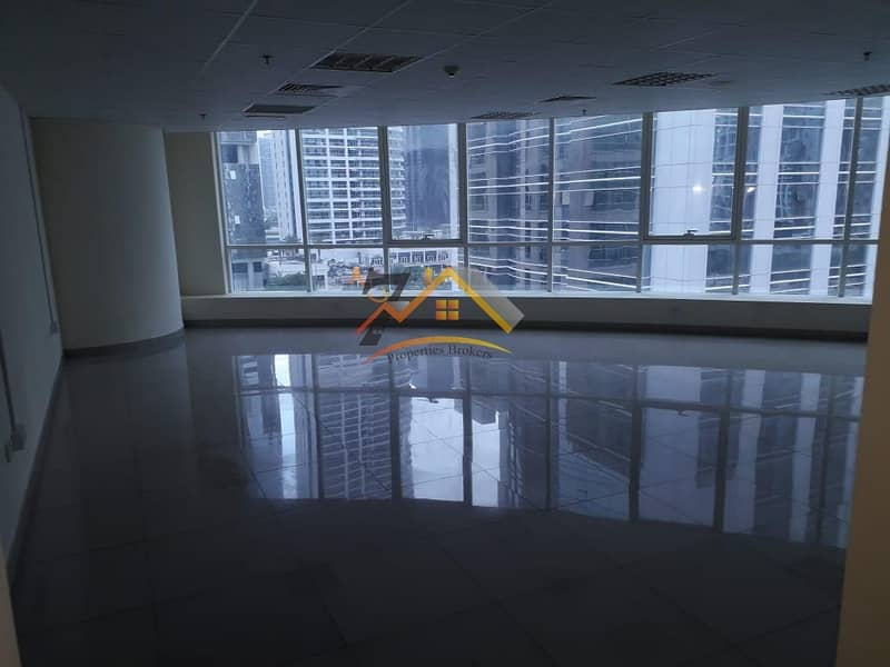Lake View I Prime Location I Fully Fitted 1000 sq.ft office for rent in JLT just at 42K