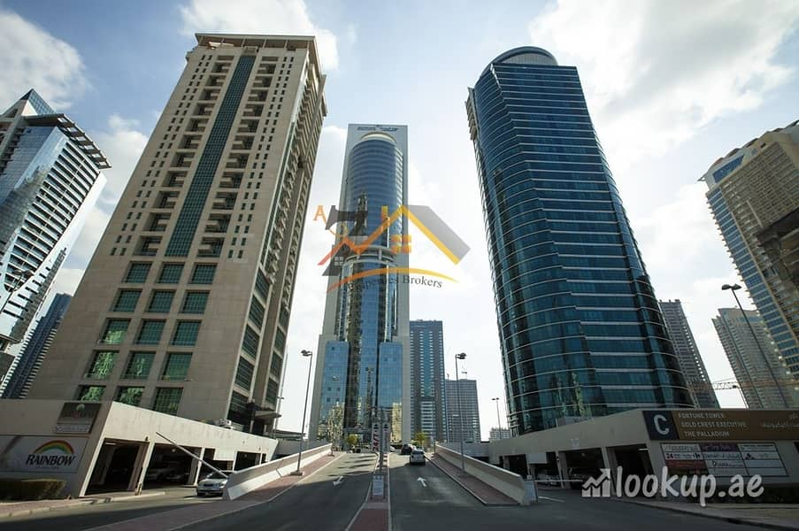 2 Lake View I Prime Location I Fully Fitted 1000 sq.ft office for rent in JLT just at 42K