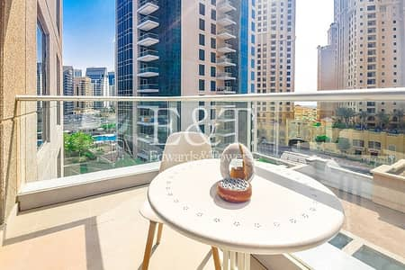 1 Bedroom Apartment for Rent in Dubai Marina, Dubai - Exclusive   Fully Furnished   Well Maintained