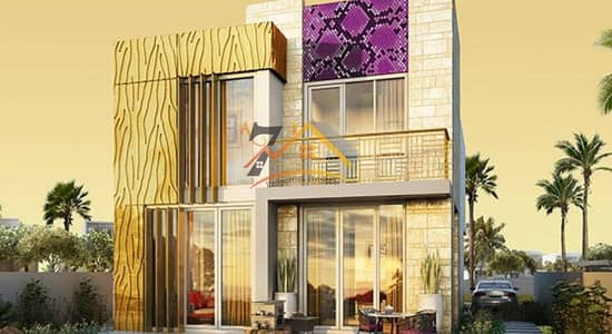 0% Commission 3Bed room Villa Just Cavalli Villas at Akoya Oxygen by Damac