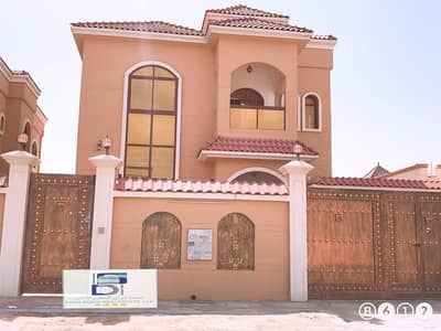 5 Bedroom Villa for Rent in Al Mowaihat, Ajman - Villa for rent super deluxe finishing is very high and the price is excellent close to Sheikh Ammar Street