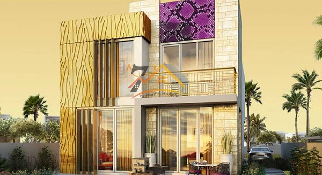 READY SOON  Fashionable villas with interior design by Just Cavalli from AED 1.3 million*  payable over 3 years