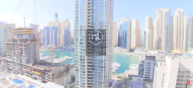 شقة 3 غرف نوم للايجار في دبي مارينا، دبي - BEAUTIFULLY FURNISHED THREE BED ROOM WITH FREE CHILLER IN DUBAI MARINA