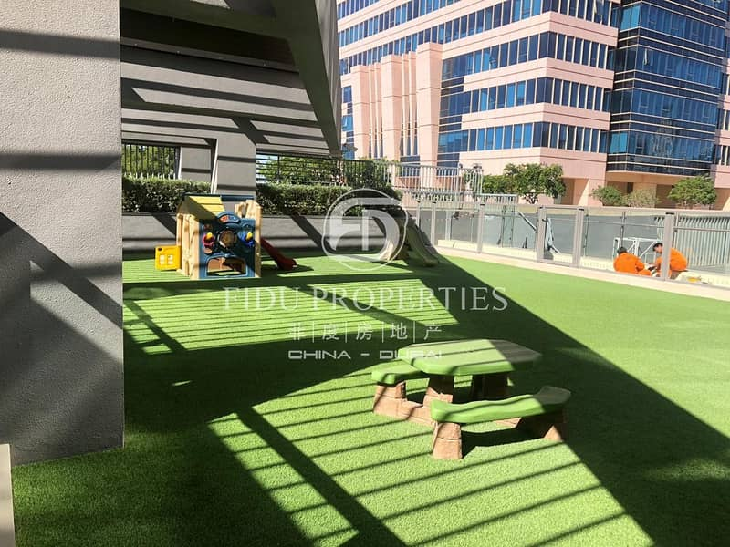 14 Canal and Burj View | 2BR with Maids | The Atria