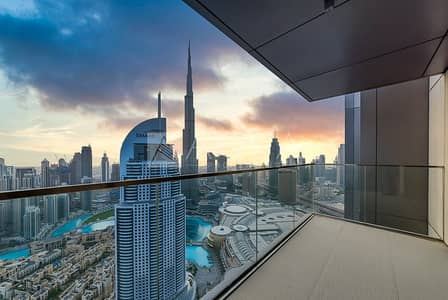 فلیٹ 3 غرف نوم للبيع في وسط مدينة دبي، دبي - Ready to Move in | High Floor | Burj View