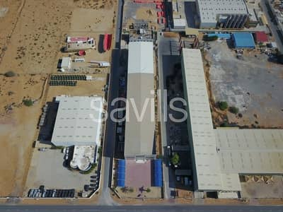 Factory for Sale in Sheikh Muhammad Bin Salem Road, Ras Al Khaimah - Factory I Offices I Staff accommodation