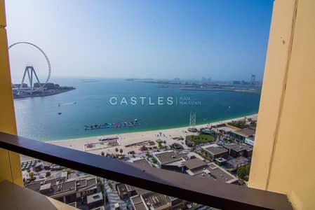 شقة 3 غرف نوم للايجار في جميرا بيتش ريزيدنس، دبي - FULL SEA & DUBAI EYE VIEW   3 Bedroom + Maids   Unfurnished