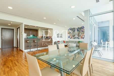 فلیٹ 3 غرف نوم للبيع في مركز دبي المالي العالمي، دبي - Exclusive | Rare Layout | Vacant on Transfer
