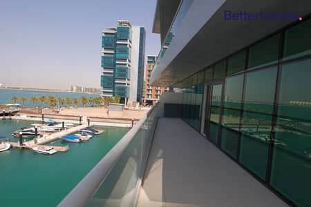 1 Bedroom Flat for Rent in Al Raha Beach, Abu Dhabi - Partial Sea view |Appliances and Wardrobes